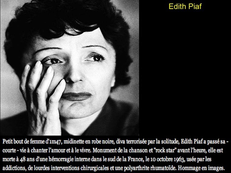Edith PIAF A votre convenance pour avancer 50 ans déjà
