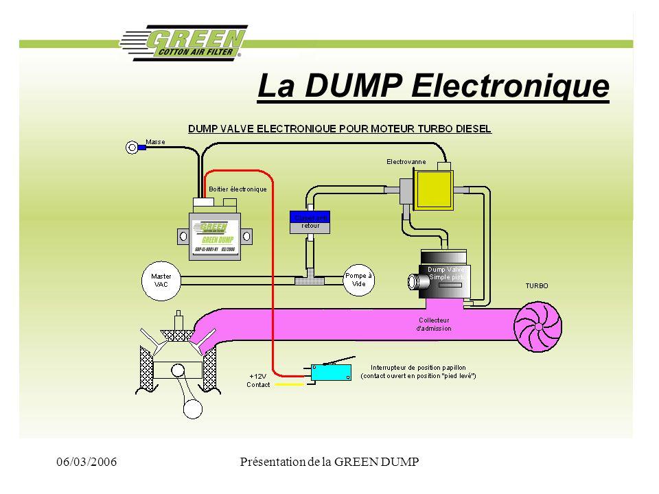 06/03/2006Présentation de la GREEN DUMP La DUMP Electronique