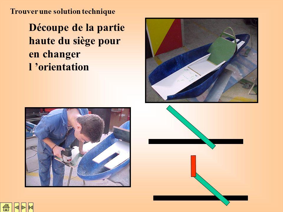 Espace moteur insuffisant Problème pour lespace moteur (MANQUE DE PLACE!!!) Interaction possible : Dessin tech. Trouver une solution technique