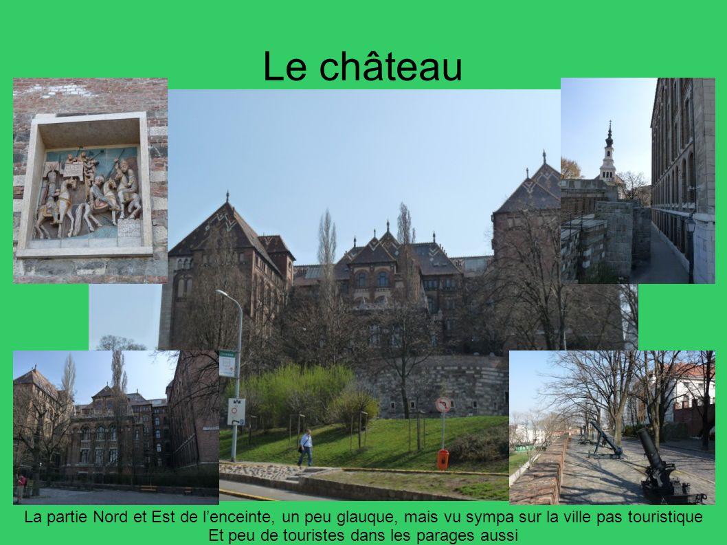 Le château La partie Nord et Est de lenceinte, un peu glauque, mais vu sympa sur la ville pas touristique Et peu de touristes dans les parages aussi