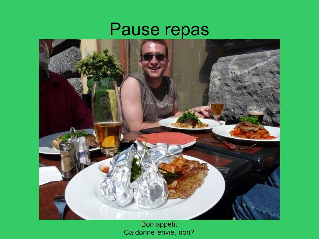Pause repas Bon appétit Ça donne envie, non?