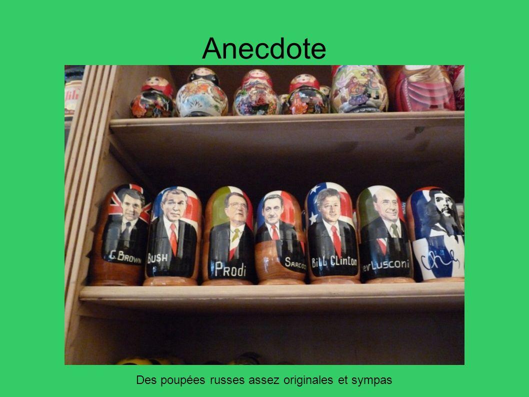 Anecdote Des poupées russes assez originales et sympas