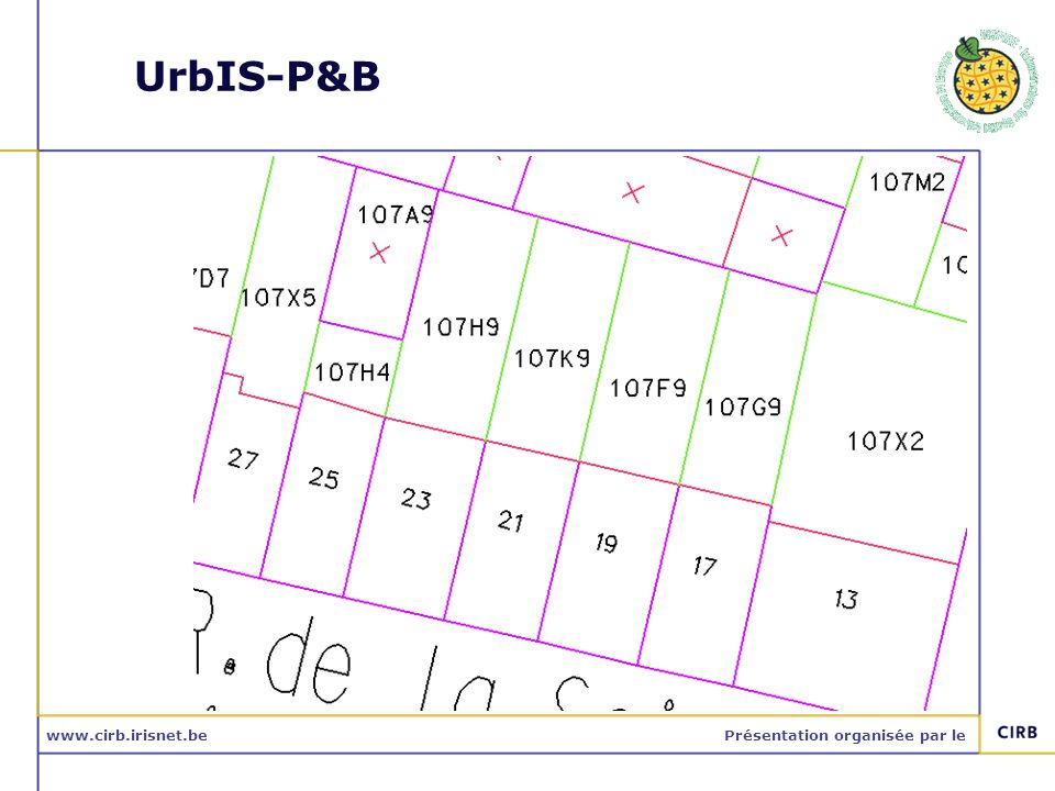 www.cirb.irisnet.bePrésentation organisée par le UrbIS-P&B