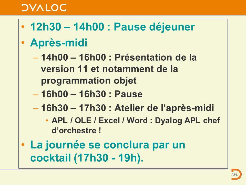 Dyalog APL et le futur Paris, février 2006