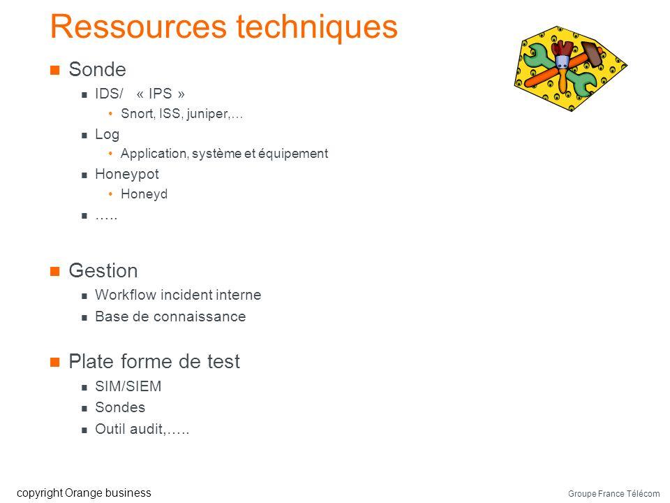 Groupe France Télécom copyright Orange business Ressources techniques SIM magic Quadrant (Gardner 2007)