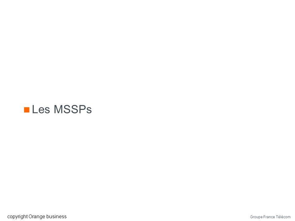 Groupe France Télécom copyright Orange business Ressources techniques Sonde IDS/ « IPS » Snort, ISS, juniper,… Log Application, système et équipement