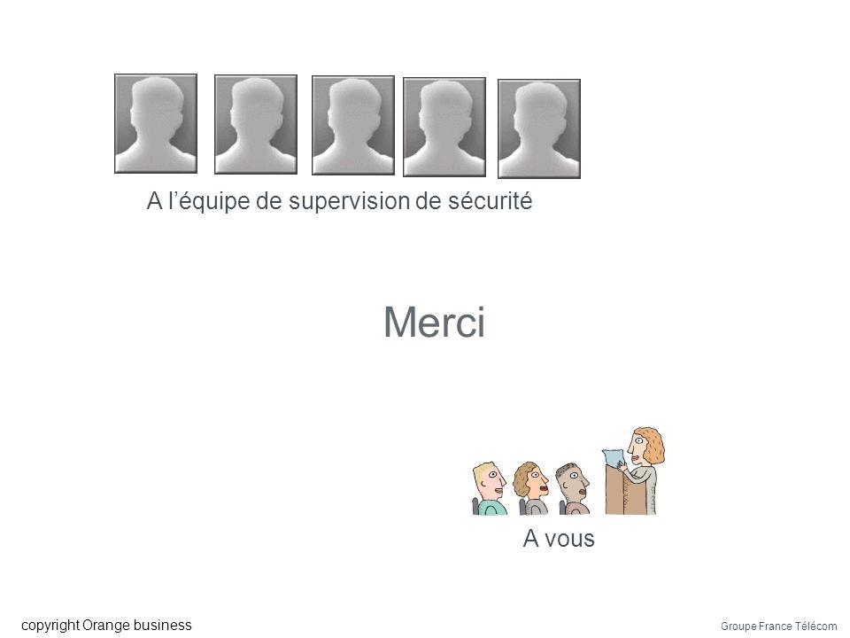 Groupe France Télécom copyright Orange business Questions ?