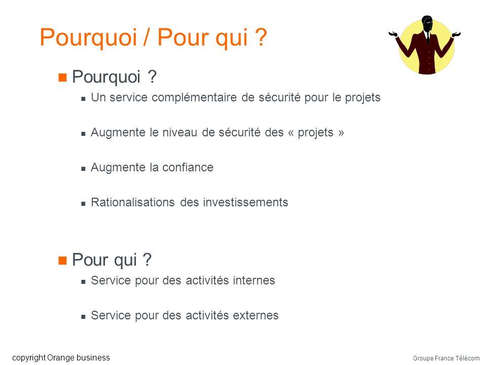 Groupe France Télécom copyright Orange business Pourquoi / Pour qui .