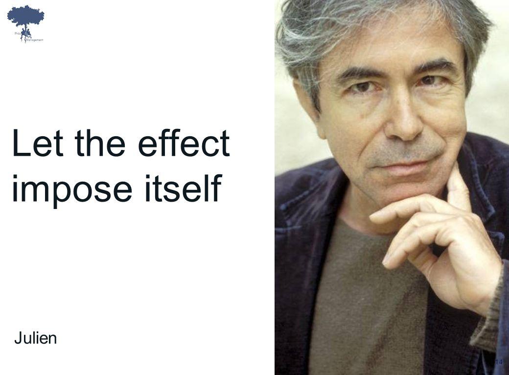 Laurent Ledoux Let the effect impose itself Julien 14