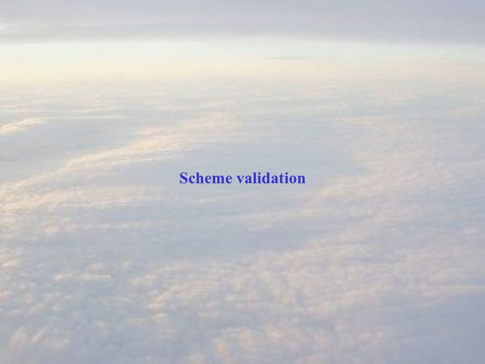 Scheme validation