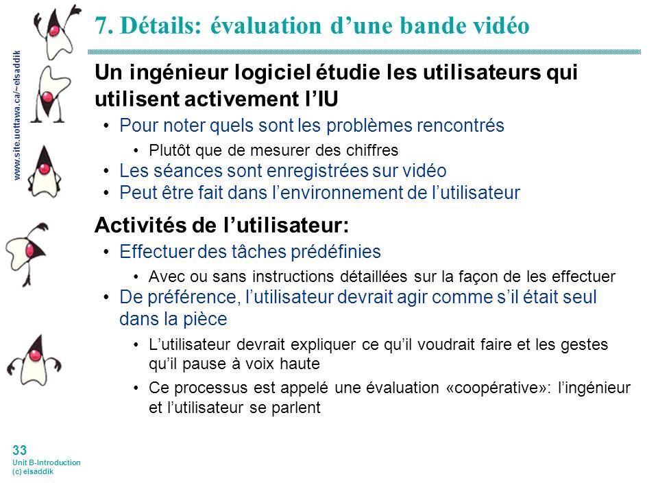 www.site.uottawa.ca/~elsaddik 33 Unit B-Introduction (c) elsaddik 7.