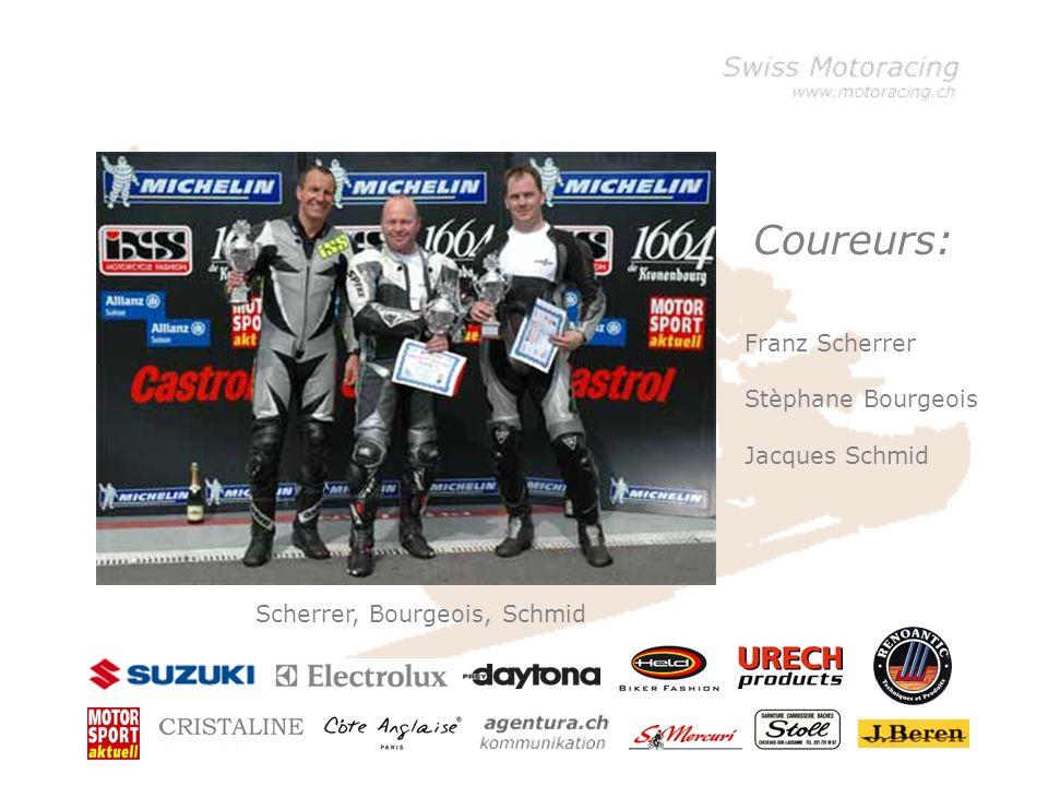 Klicken Sie, um die Formate des Vorlagentextes zu bearbeiten –Zweite Ebene Dritte Ebene –Vierte Ebene »Fünfte Ebene Stèphane Bourgeois 19.4.1967 Fuilly VS + 41 79 329 14 78 bourgeoistravau@bluewin.ch Racing depuis: 1991 Palmares: 37 courses, 9 victoires, 24 podiums Highlights: 2005: 3ème rang Eurocup Moto Center Thun 2004: 3ème rang Eurocup Moto Center Thun 2003: 3ème rang Eurocup Moto Center Thun