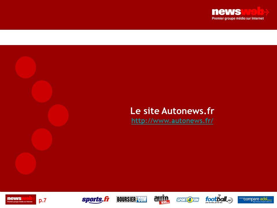 p.7 7 Le site Autonews.fr http://www.autonews.fr/