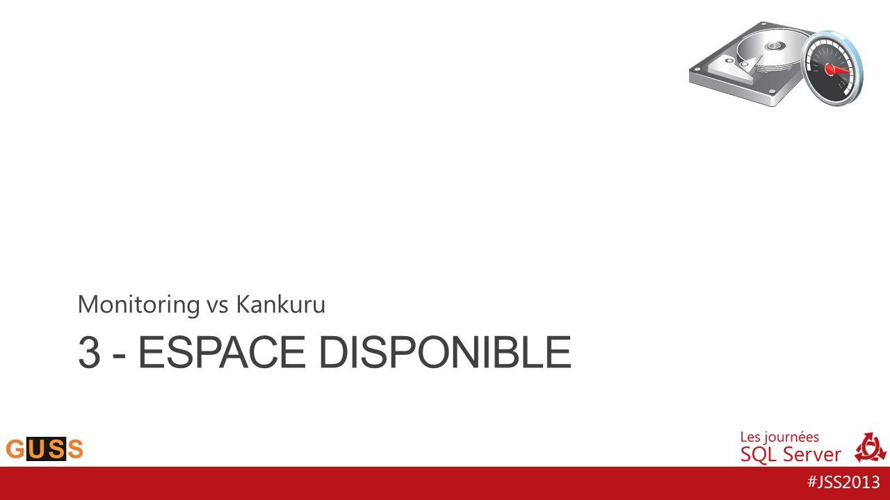 #JSS2013 3 - ESPACE DISPONIBLE Monitoring vs Kankuru