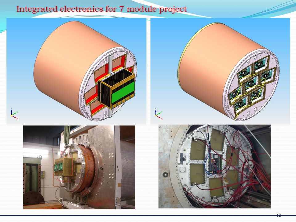 Integrated electronics for 7 module project 12