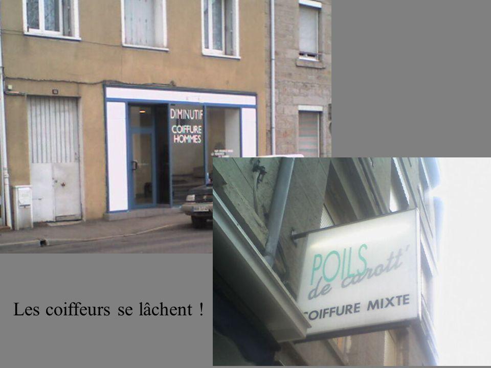 Les coiffeurs se lâchent !