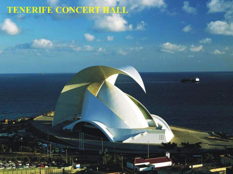 Une merveille de technologie en béton et de pierres Maison de lorchestre symphonique de Tenerife