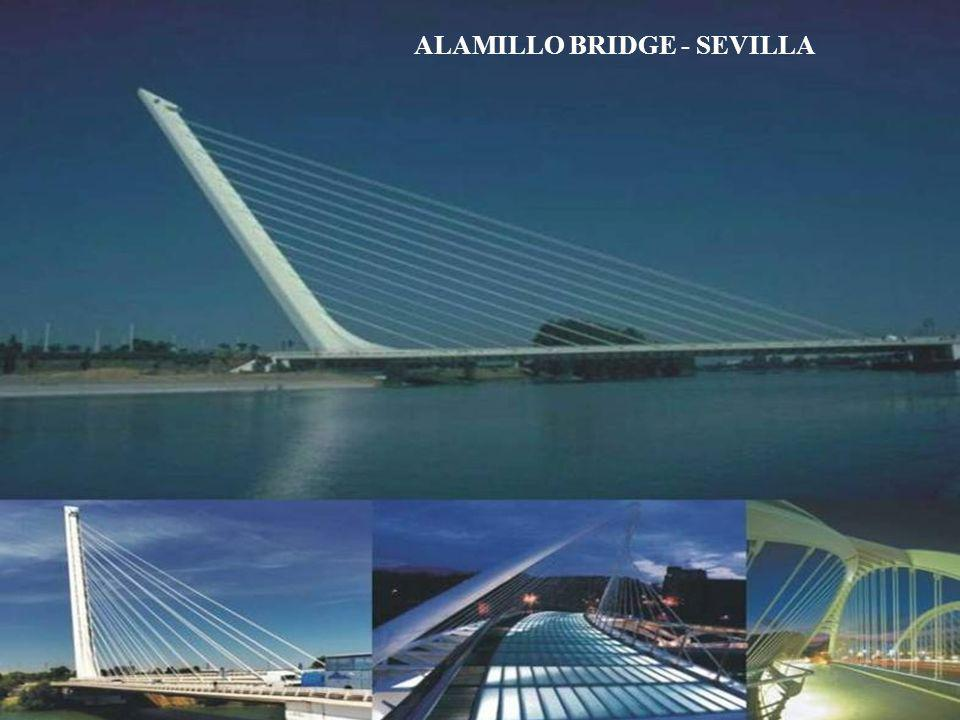 Pont Alamillo – Séville, Espagne, 1987 ÷ 1992