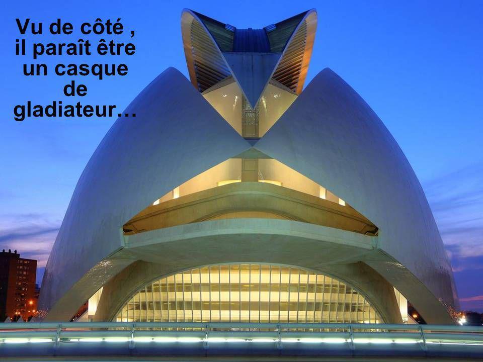 Et finalement le Palais des Arts est un bâtiment pour les concerts et opéras.