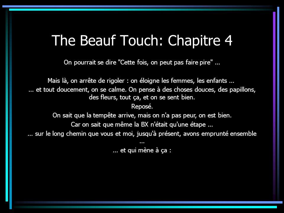 The Beauf Touch: Chapitre 4 On pourrait se dire