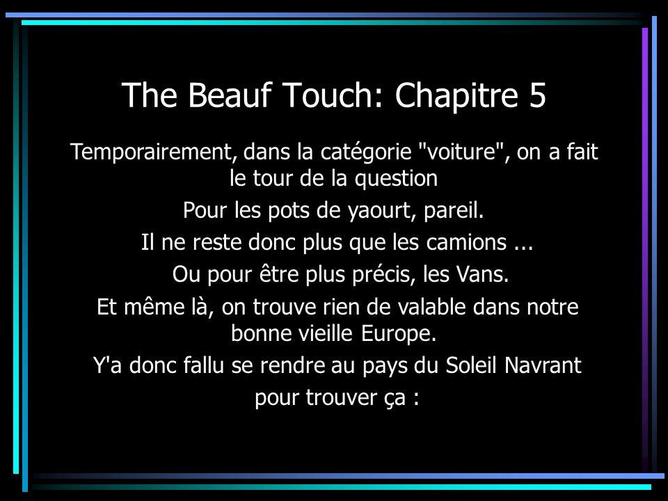 The Beauf Touch: Chapitre 5 Temporairement, dans la catégorie