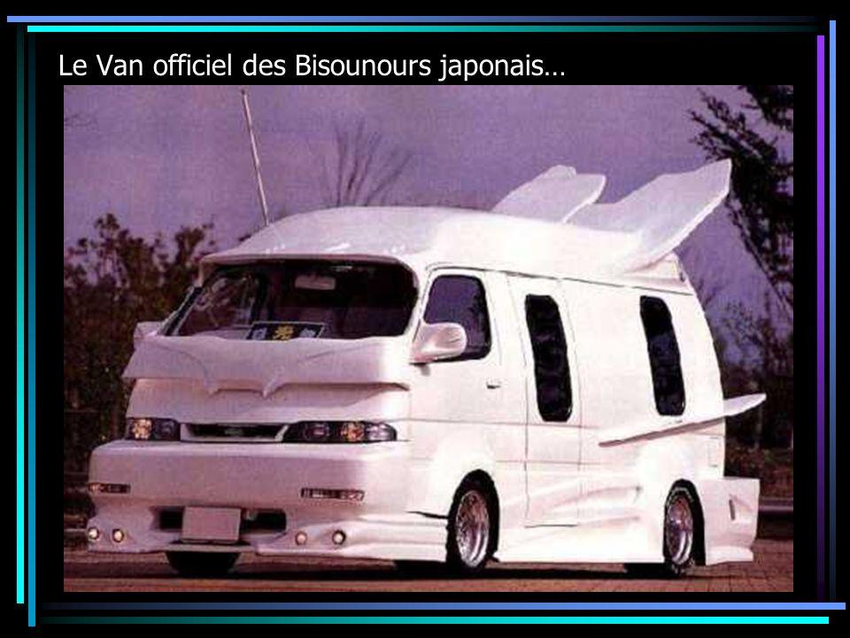 Le Van officiel des Bisounours japonais…