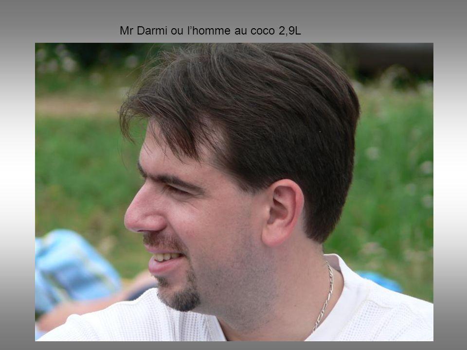 Mr Darmi ou lhomme au coco 2,9L