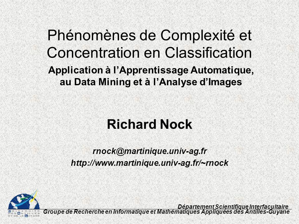 Background Ingénieur Agronome (1993) DEA Informatique (1993) Doctorat Informatique (1998) directeur: O.