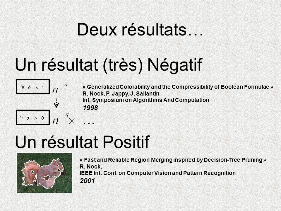 +Expérimentations (1) Setup: pour tous les tests (pas de tuning en fonction des images), Les images sont segmentées sans aucun prétraitement (débruitage, filtrage, etc.)