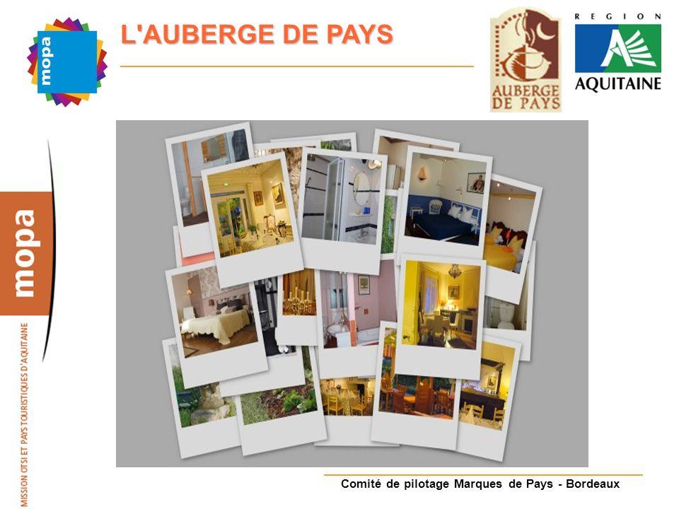 Comité de pilotage Marques de Pays - Bordeaux L AUBERGE DE PAYS