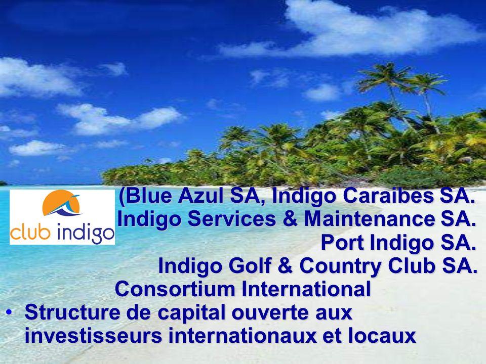 (Blue Azul SA, Indigo Caraibes SA. (Blue Azul SA, Indigo Caraibes SA. Indigo Services & Maintenance SA. Indigo Services & Maintenance SA. Port Indigo