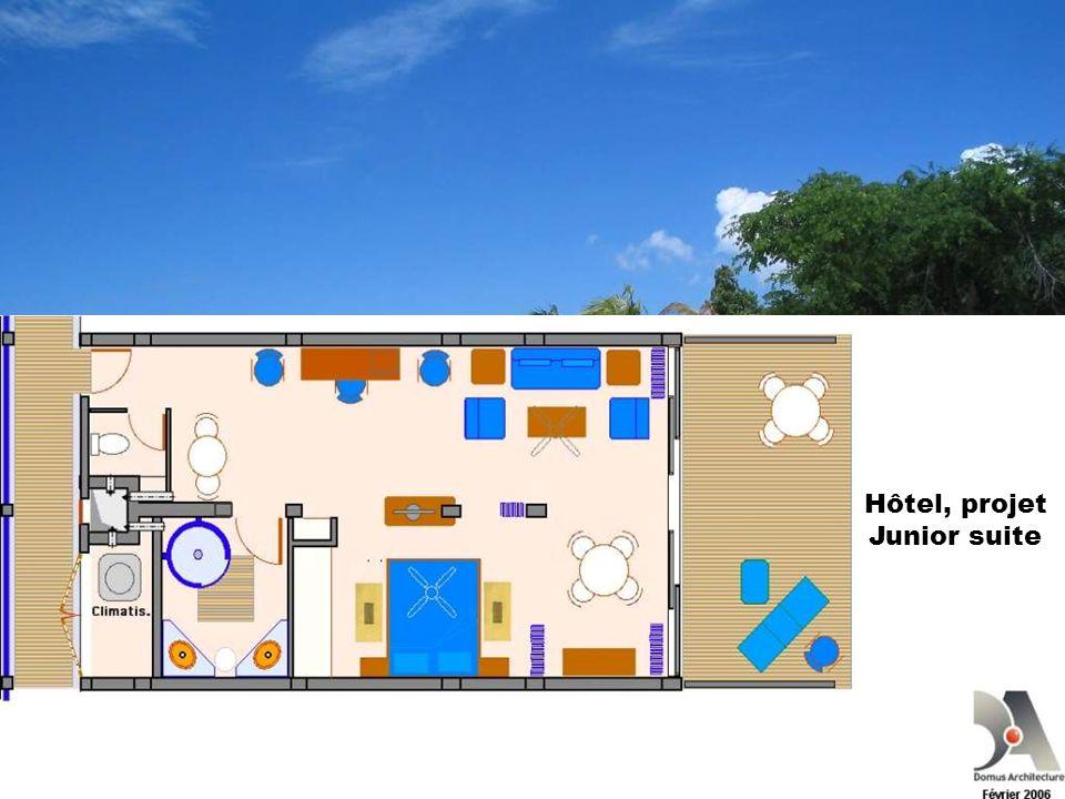 Hôtel, projet Junior suite