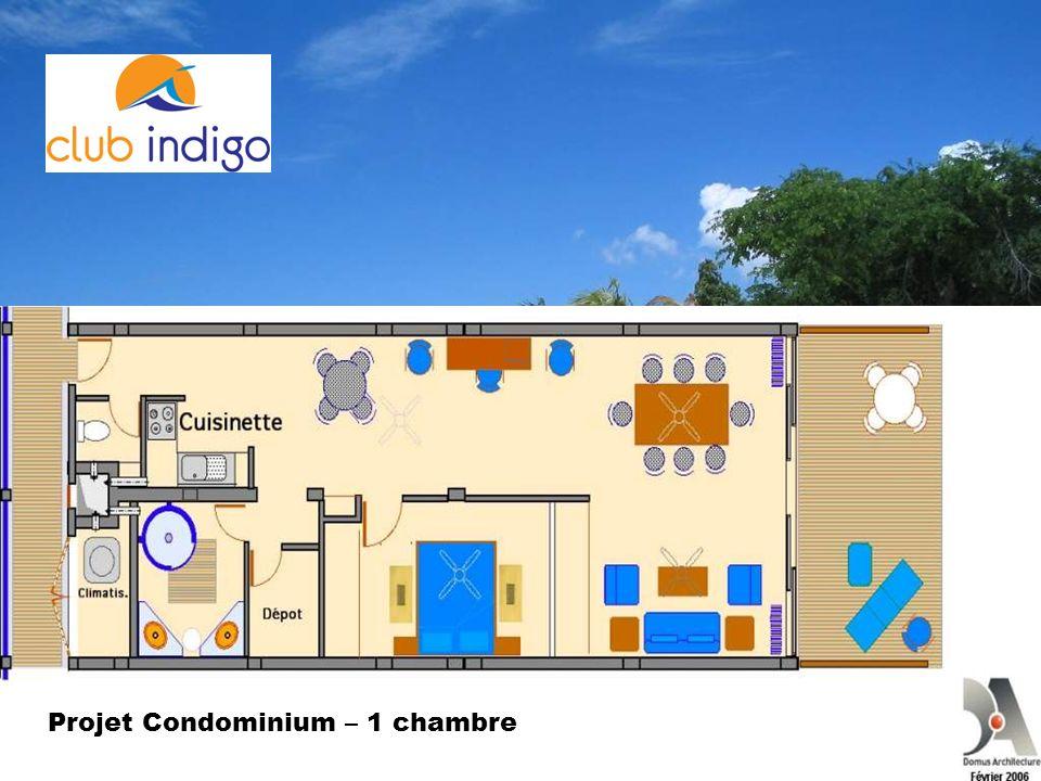 Projet Condominium – 1 chambre