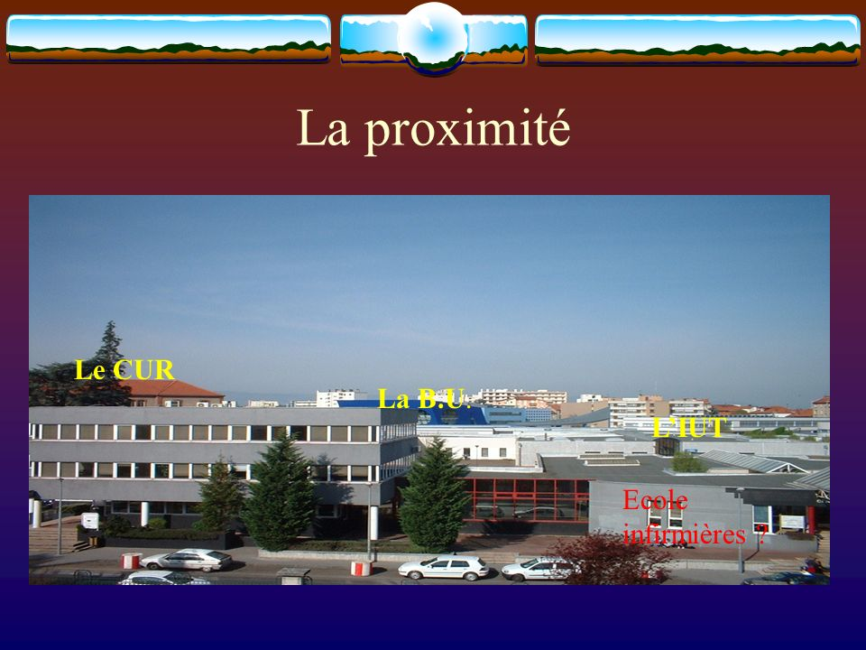 Une opportunité Parcelle 501 disponible Parking de lUniversité et de lIUT Université IUTCité A.T.
