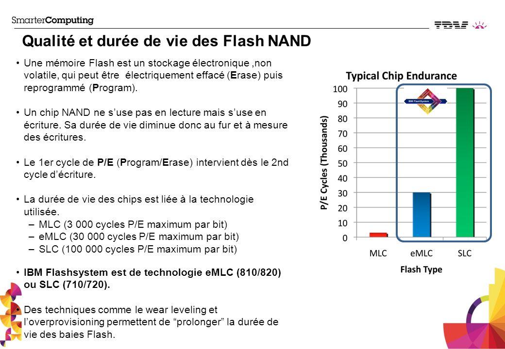 Une mémoire Flash est un stockage électronique,non volatile, qui peut être électriquement effacé (Erase) puis reprogrammé (Program). Un chip NAND ne s