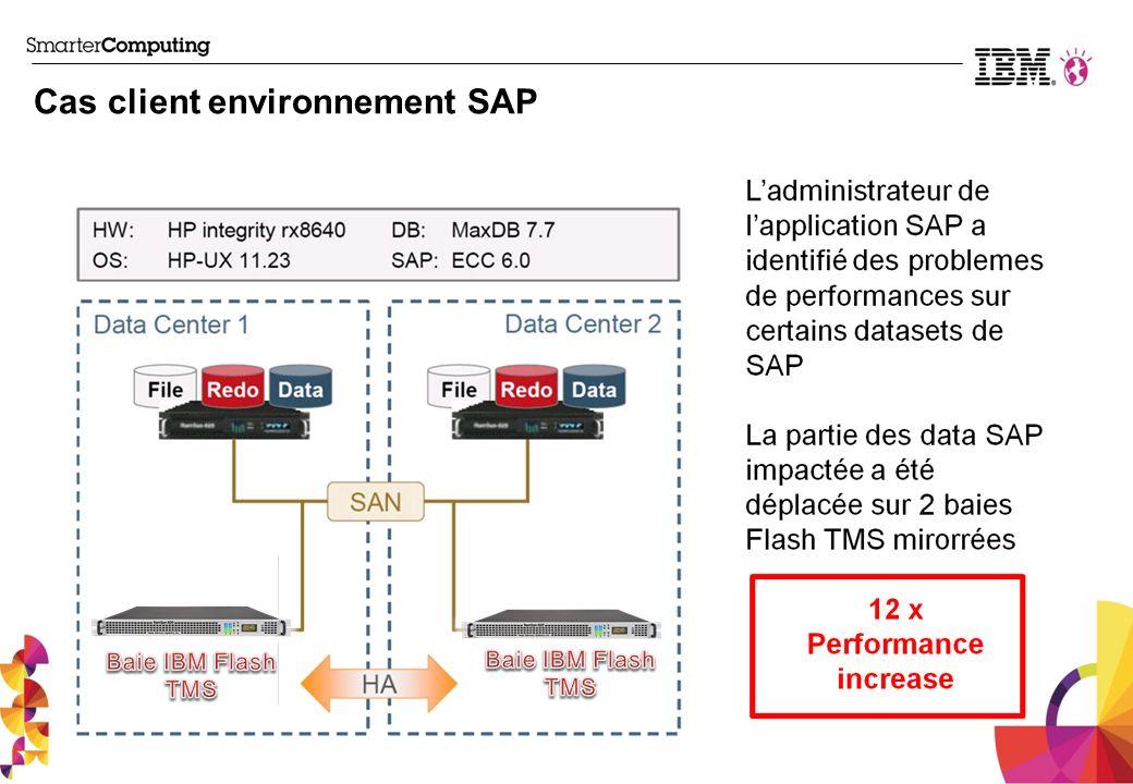 Cas client environnement SAP
