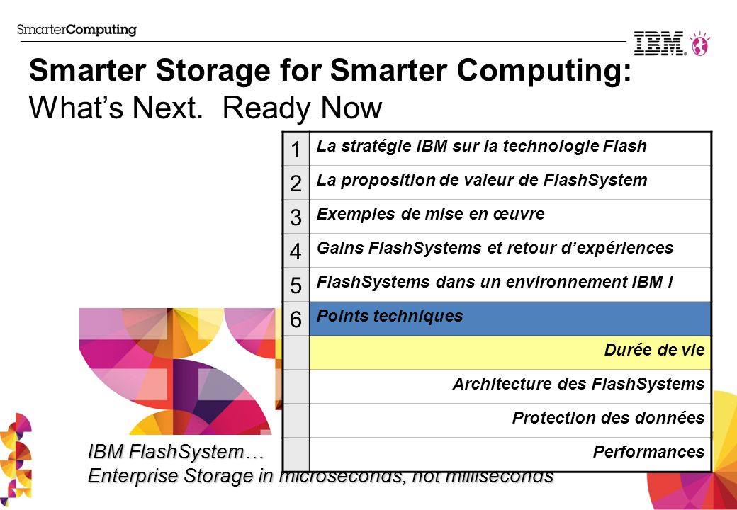 Smarter Storage for Smarter Computing: Whats Next.