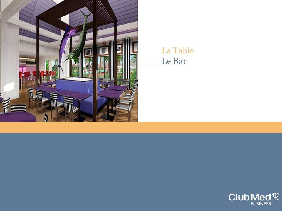 7 La Table Le Bar