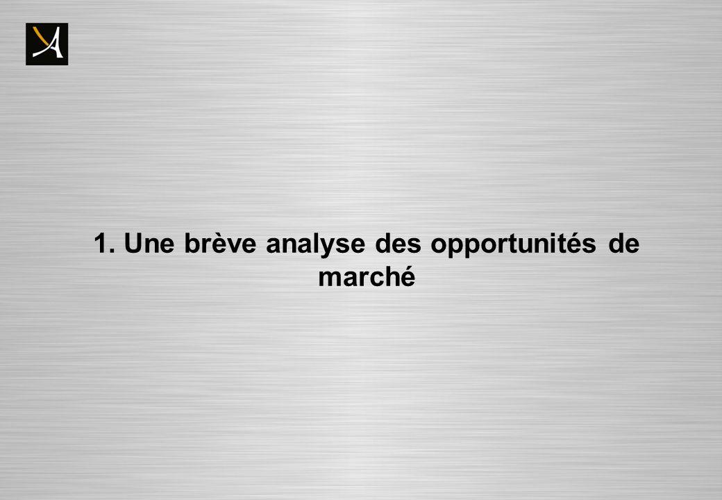 Opportunités de marché externes : convergence concomitante de trois facteurs : - Lexpansion du Guide Michelin -Une crise économique qui change la donne -La structuration des entreprises autour des chefs de cuisines