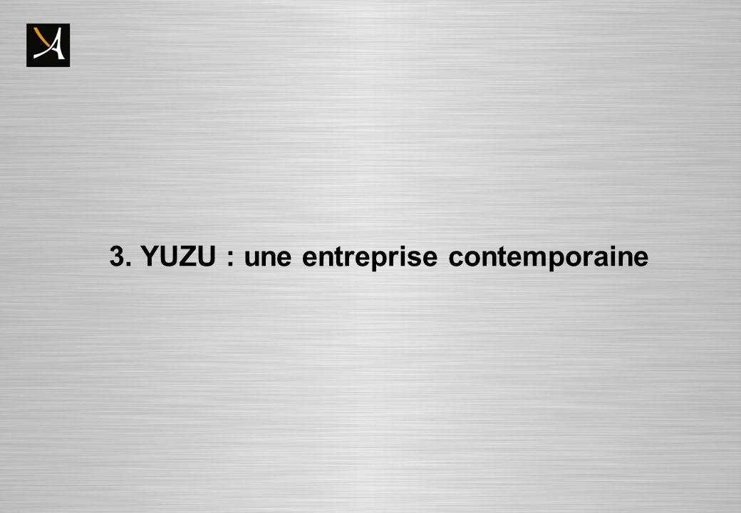 3. YUZU : une entreprise contemporaine