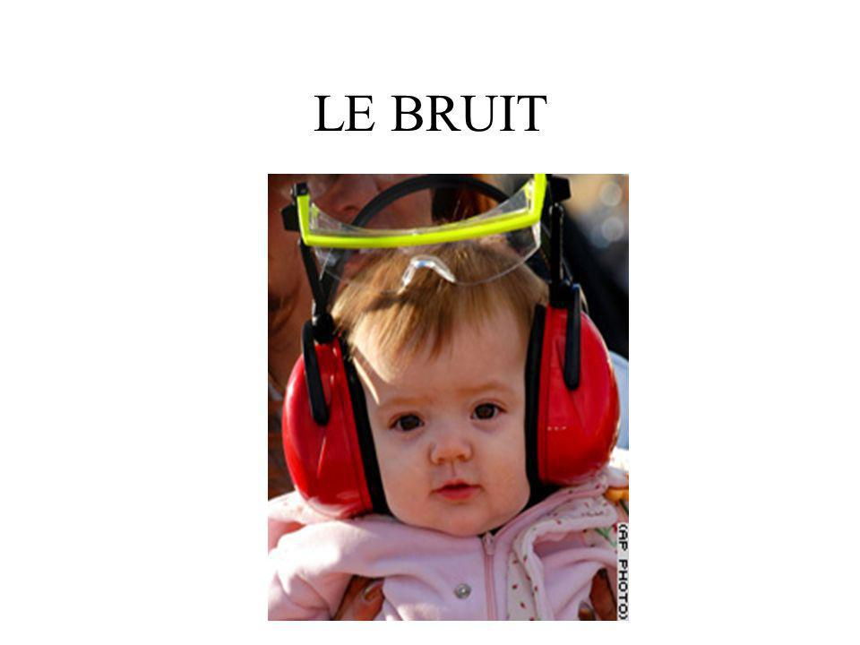 LE BRUIT