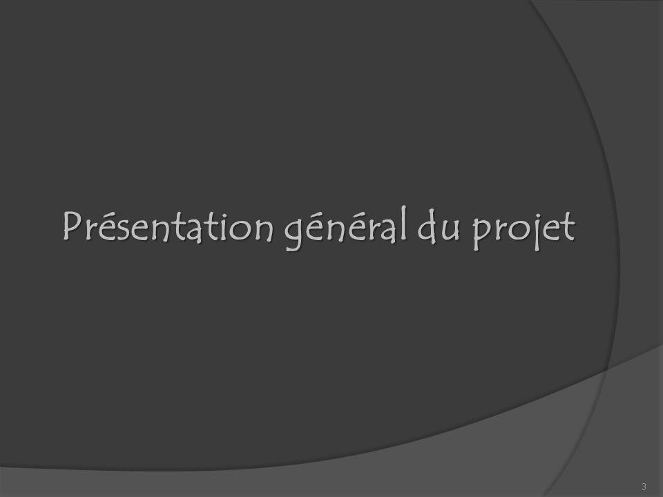 Présentation général du projet 3