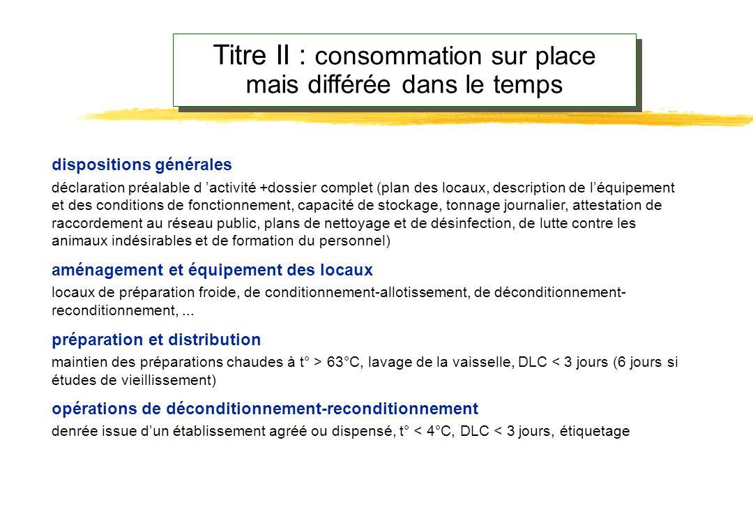dispositions générales déclaration préalable d activité, auto-contrôles selon la méthode HACCP,... aménagement et équipement des locaux séparation sec