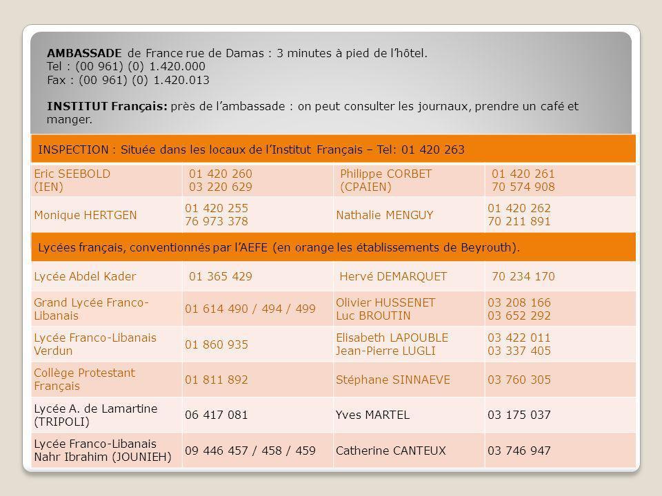 SANTÉ HOPITAL (francophone)HOTEL DIEU DE FRANCE01 615 300 / 01 615 400 GENERALISTE Dr Ayman KHALILI MAZRAA 01 319 584 ou 03 280 035 Dr.