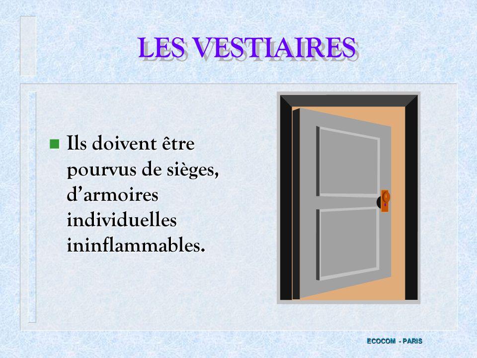 V - LHYGIENE GENERALE ECOCOM - PARIS