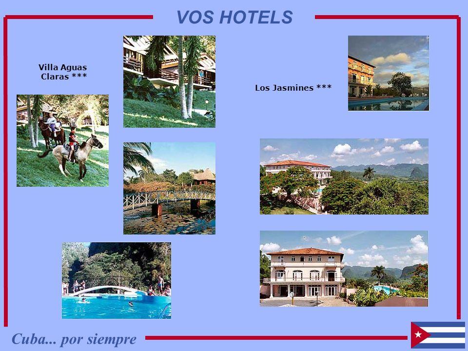 Villa Aguas Claras *** Los Jasmines *** Cuba... por siempre VOS HOTELS