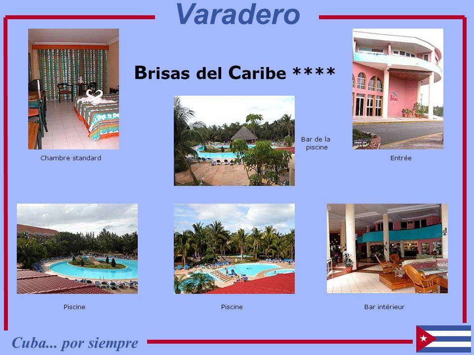 B risas del C aribe **** Chambre standard Vue extérieure Piscine Bar de la piscine Entrée Bar intérieur Piscine Cuba... por siempre Varadero