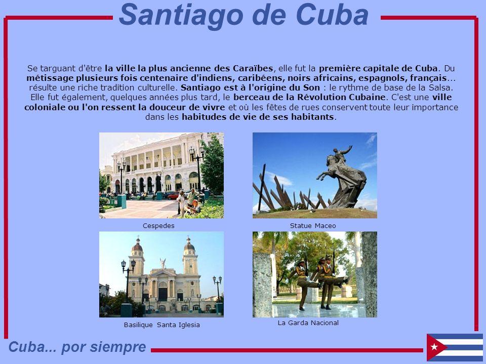 Se targuant d'être la ville la plus ancienne des Caraïbes, elle fut la première capitale de Cuba. Du métissage plusieurs fois centenaire d'indiens, ca