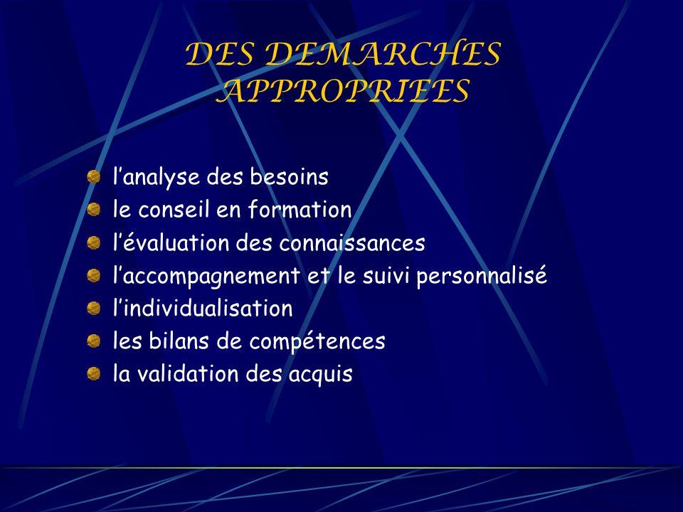 DES STRUCTURES A VOTRE SERVICE MAISON DE LA FORMATION 122 av.