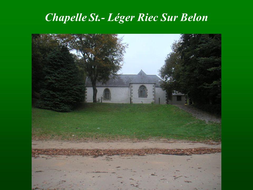 Chapelle St.- Léger Riec Sur Belon